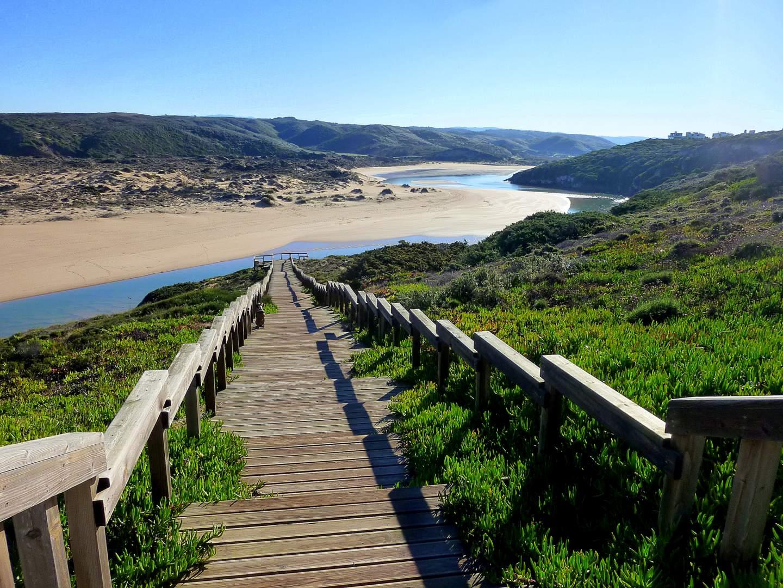 Praia da Amoreira: Ribeira de Aljezur