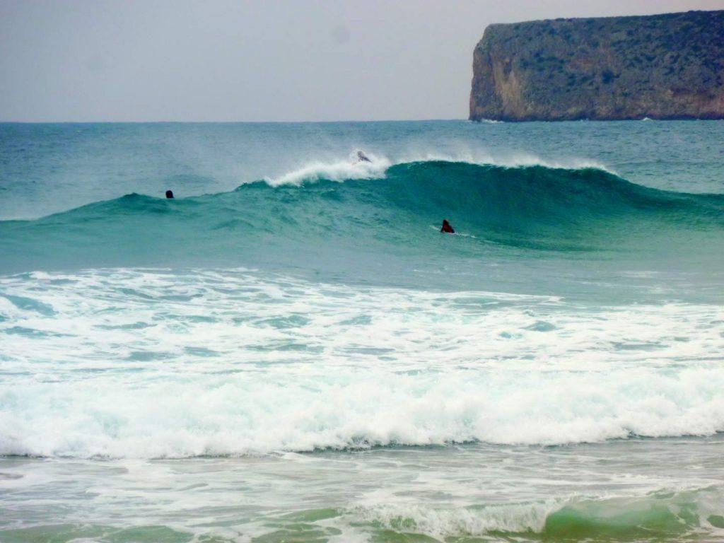 Sagres Surfen