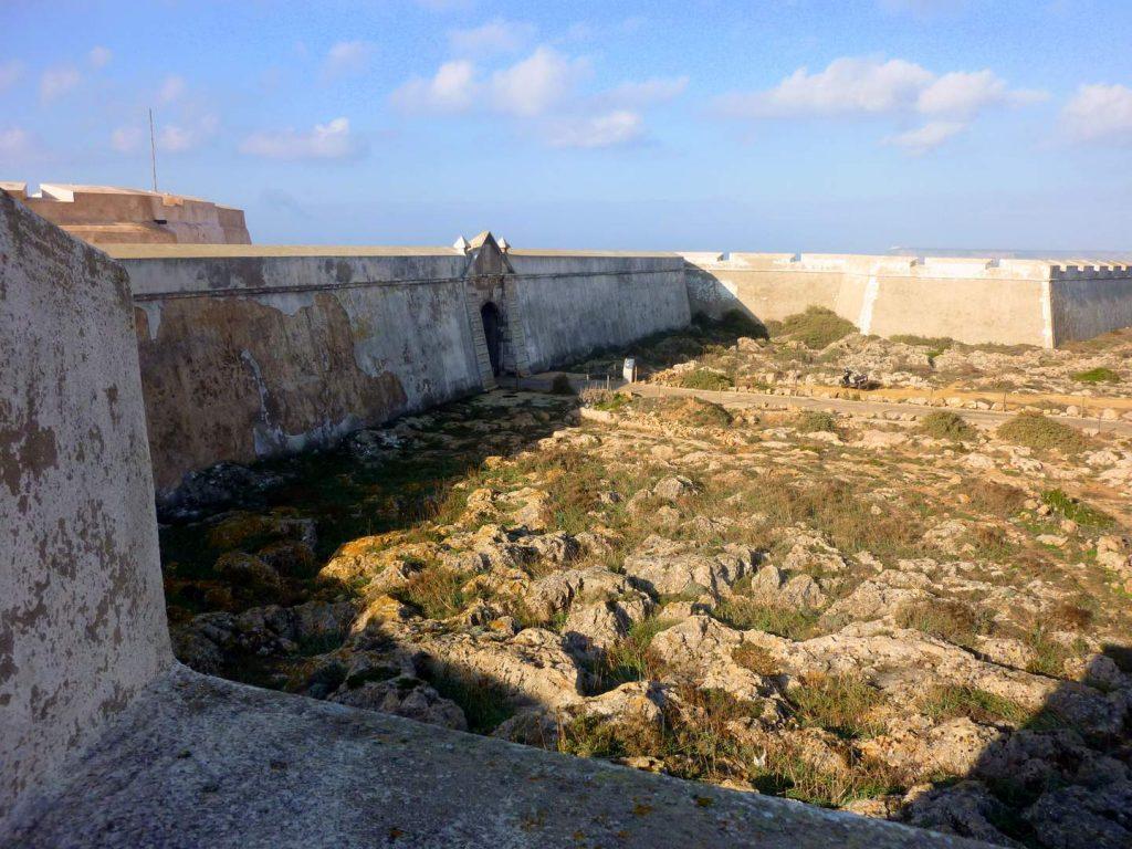 Algarve Sehenswürdigkeiten: Fortaleza de Sagres