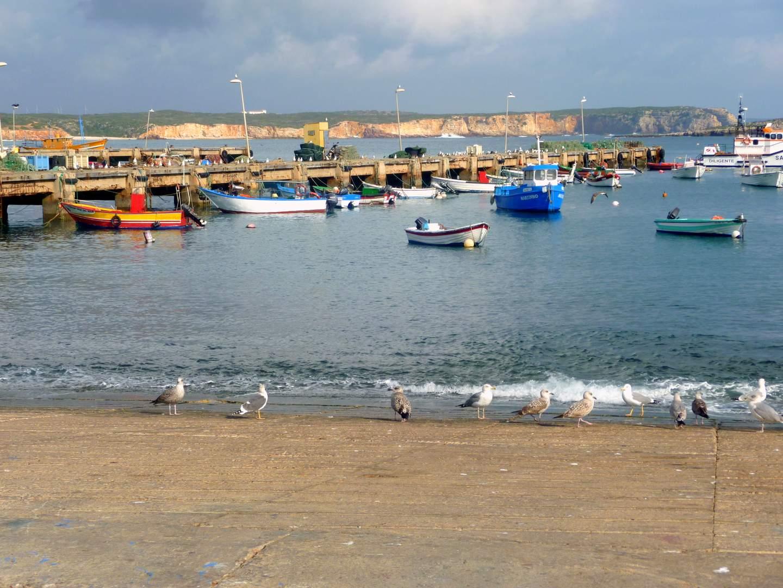 Algarve Sehenswürdigkeiten: Der Fischereihafen von Sagres