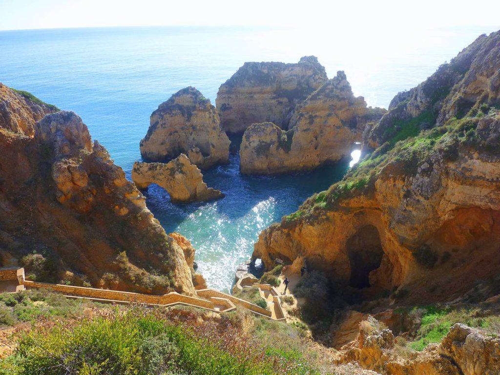 Algarve Sehenswürdigkeiten: Ponta de Piedade