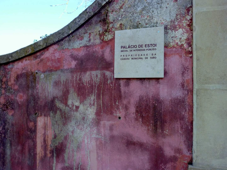 Algarve Sehenswürdigkeiten: Der Rokokopalast von Estoi