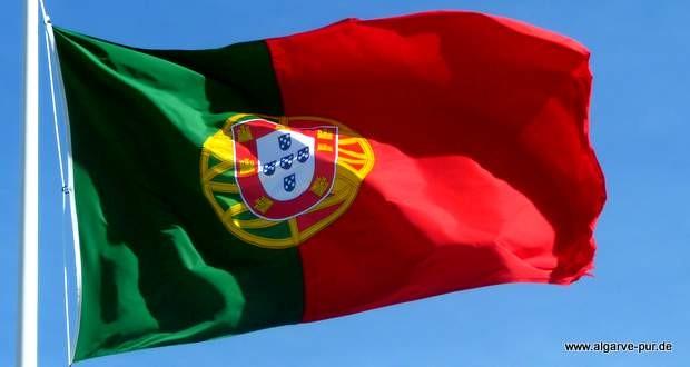 Portugiesische Fahne