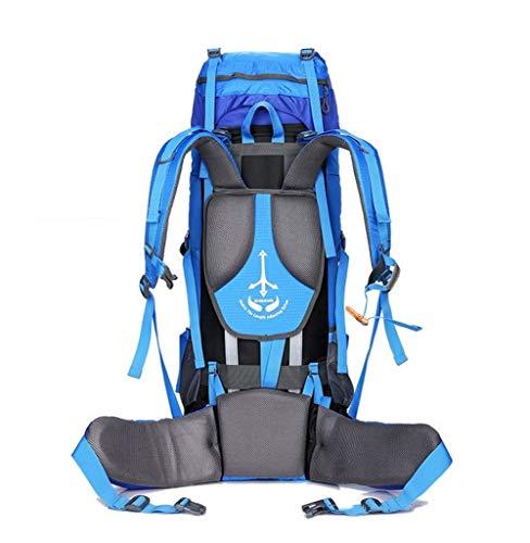 Schwarz MOUNTAINTOP 40L Rucksack Wanderrucksack Trekkingrucksack Daypack für