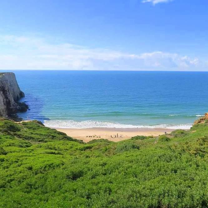 Surfen Algarve: Ponta Ruvia