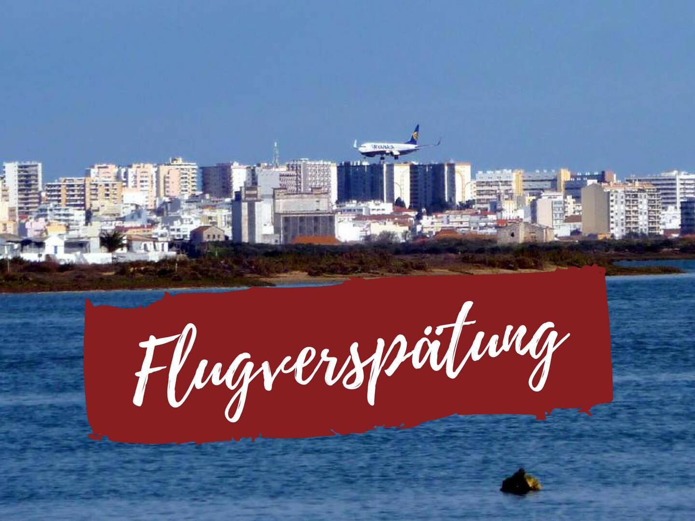 Landeanflug auf Flughafen Faro
