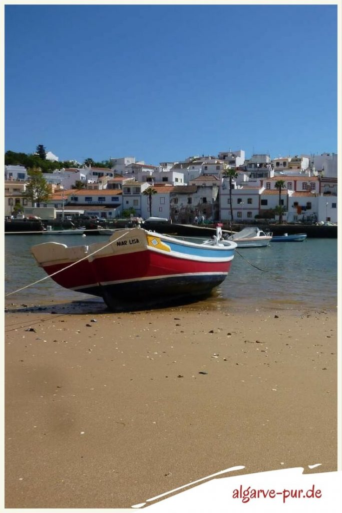 Portugal Algarve Urlaub Reisetipp: Ferragudo