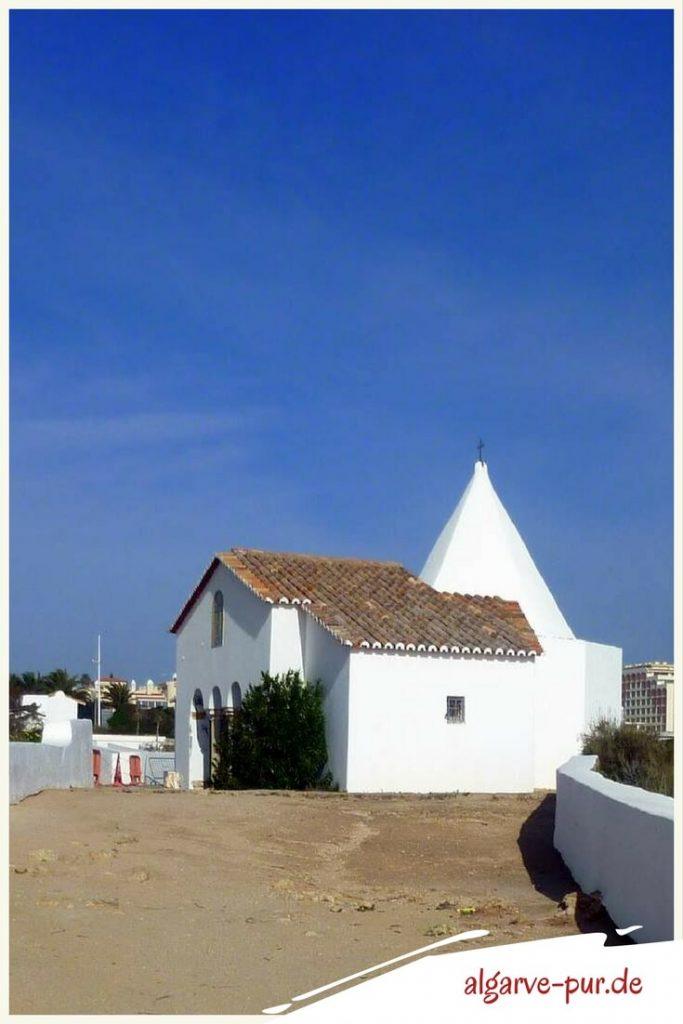 Sehenswürdigkeiten der Algarve in Portugal: Ermida de Nossa Senhora da Rocha