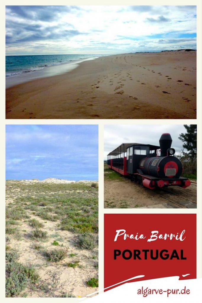 Urlaub in Tavira, Portugal, Algarve am Praia do Barril
