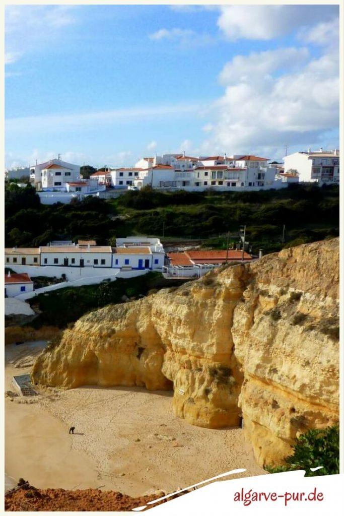 Strände der Algarve in Portugal: Praia Benagil
