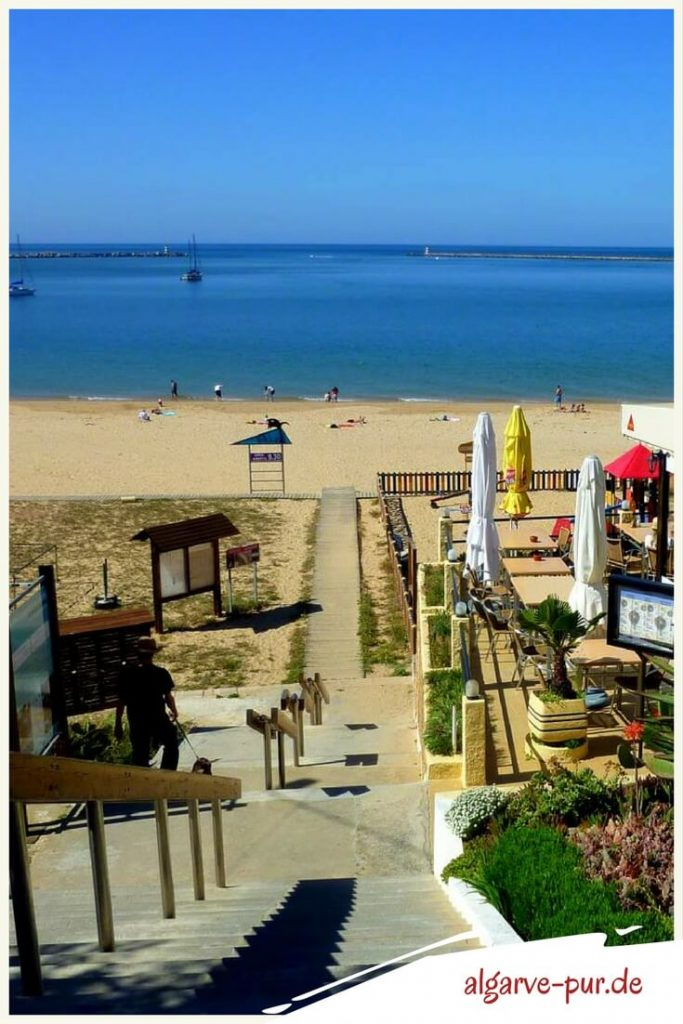 Portugal Algarve Strände: Praia Grande bei Ferragudo