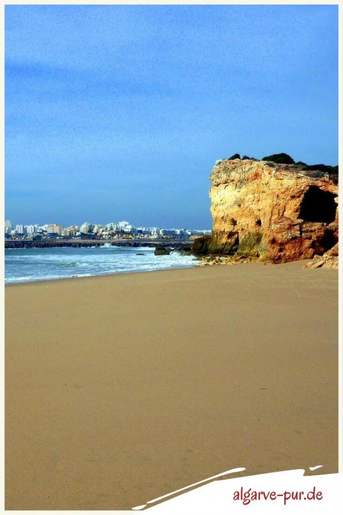 Strände der Algarve in Porutgal: Praia Pintadinho bei Ferragudo