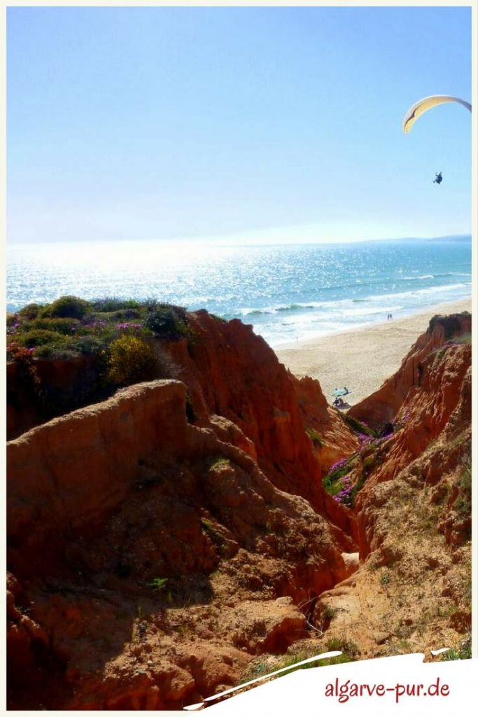 Strände der Algarve in Portugal: Praia da Falésia
