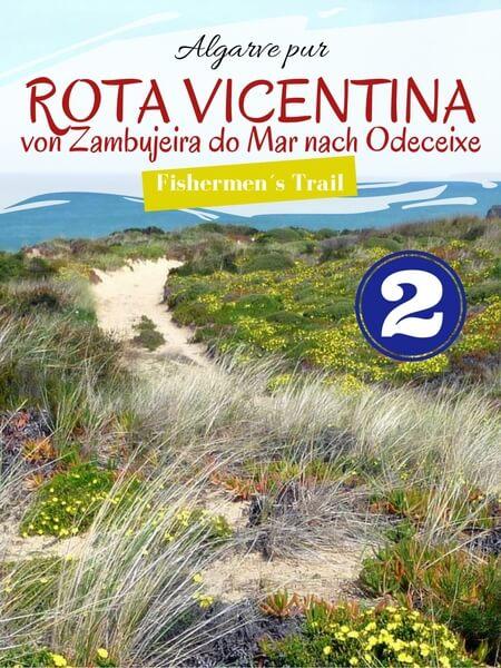 Algarve pur Cover Bild RV Zambujeira do Mar nach Odeceixe