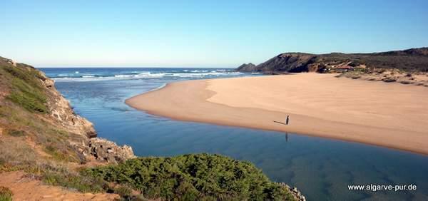 Traumstrand Praia da Amoreira