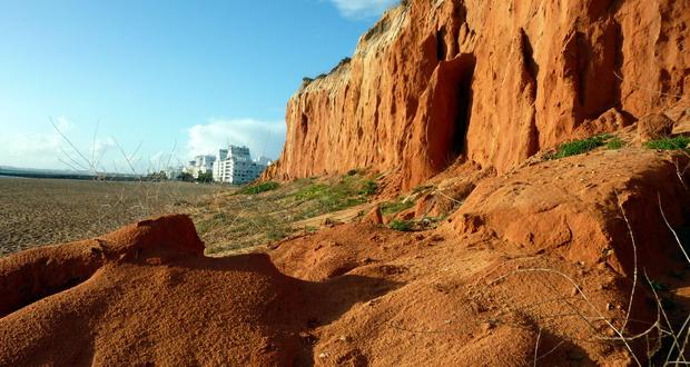 Die Sandküste im Osten der Algarve