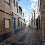 Straße in Olhao