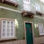 Hausfassade in Odeceixe