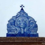 Azulejo an der Kirche Sao Lourenco