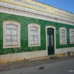 Hausfassade in Estoi