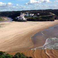 Blick auf Praia de Seixe