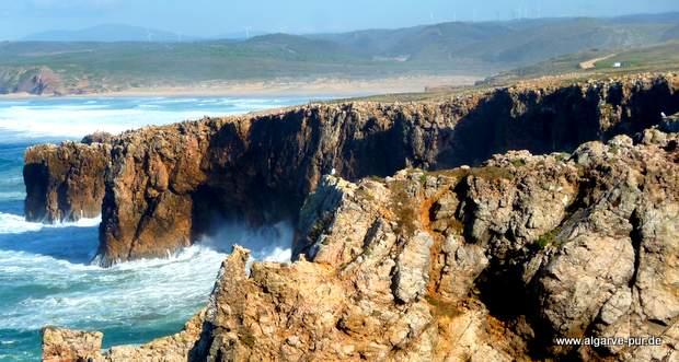 Cabo Pontal, Algarve, Portugal