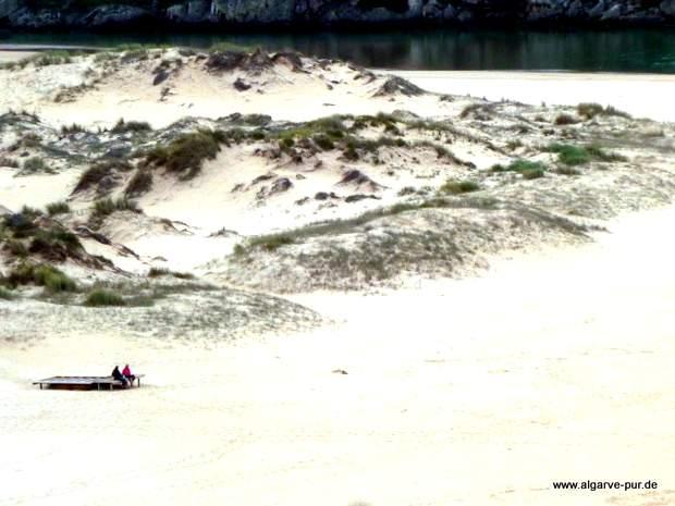Dünen am Praia da Amoreira