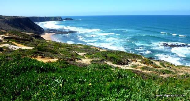Die wilde Westküste der Algarve, Portugal