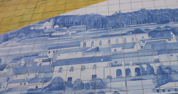 Ferien in den Bergen der Algarve, Die Kirche von Monchique, Portugal