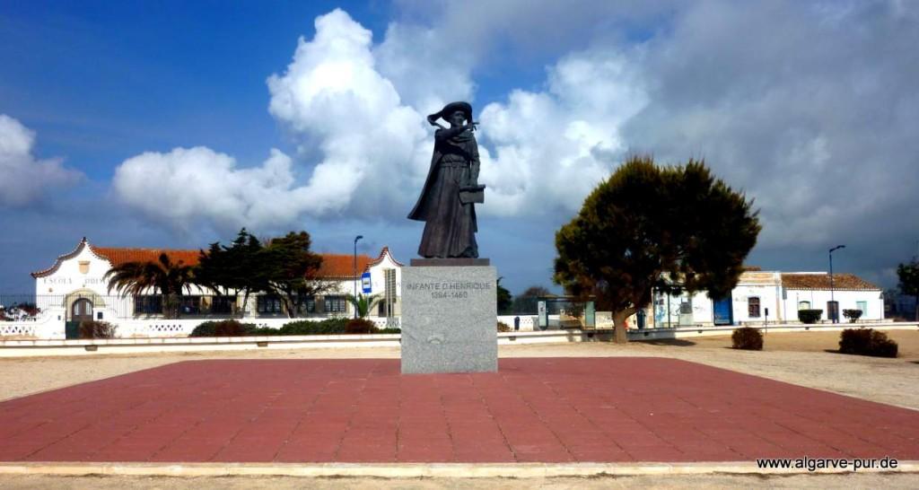 Heinricht der Seefahrer in Sagres