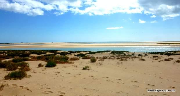 Wanderung durch die Ria Formosa