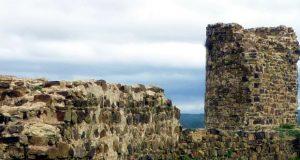 Highlight an der Westküste der Algarve, Das Castelo von Aljezur, Algarve, Portugal