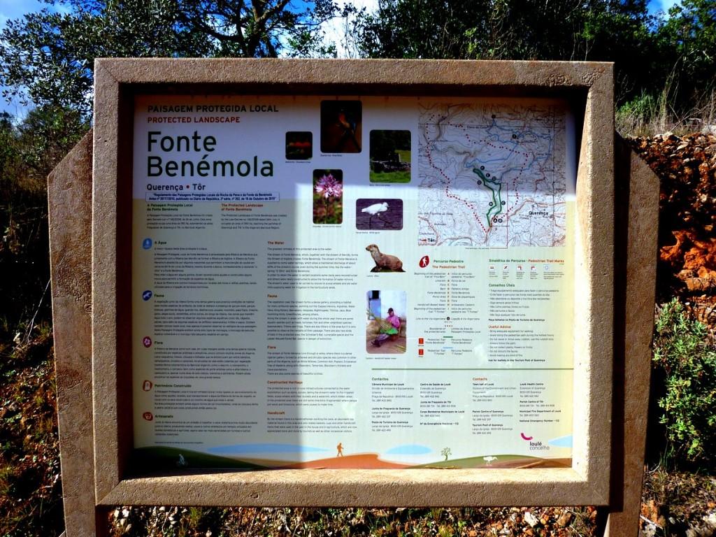 Infotafel Fonte Benémola