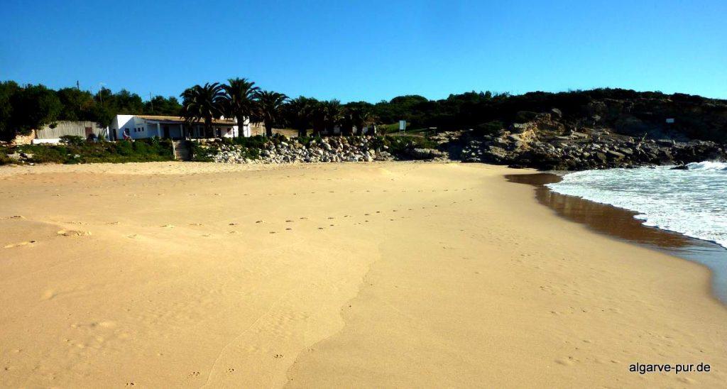 wandern in der Algarve: Praia Ingrina