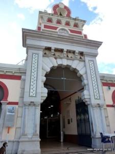 Die Markthalle in Loulé, Algarve, Portugal