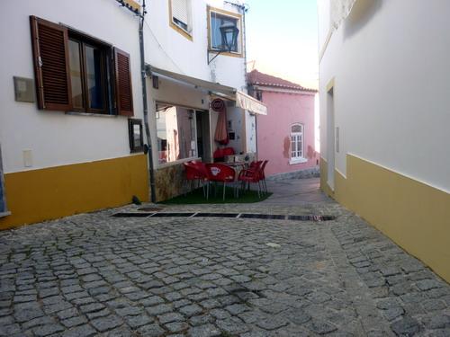 Odeceixe - Stadtrundgang Café Romeu