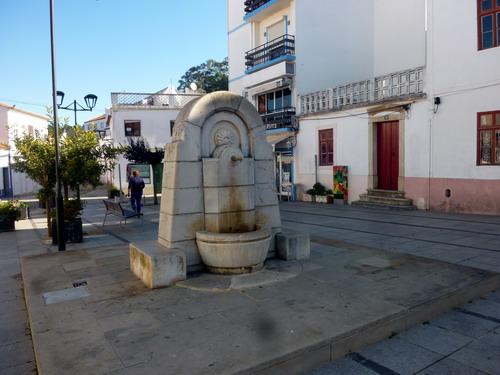 Odeceixe - Stadtrundgang Largo Maio