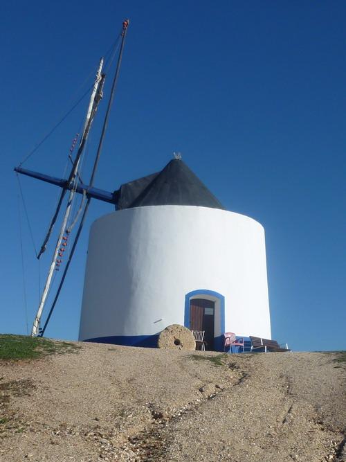 Odeceixe - Stadtrundgang Windmühle 1
