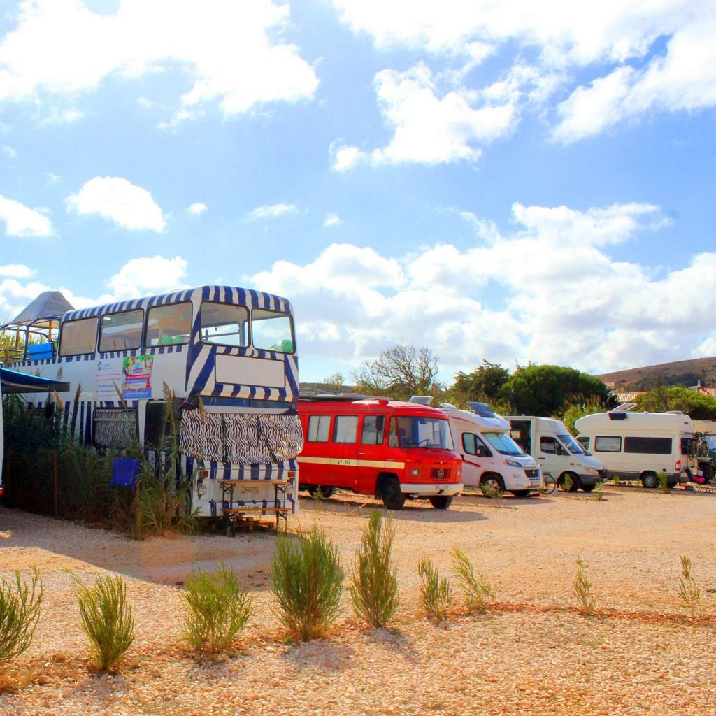 Algarve Surfen: Camperstellplatz