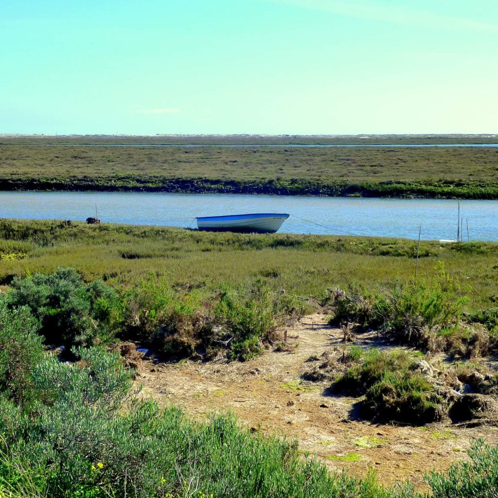 Die Ria Formosa bei Fuseta