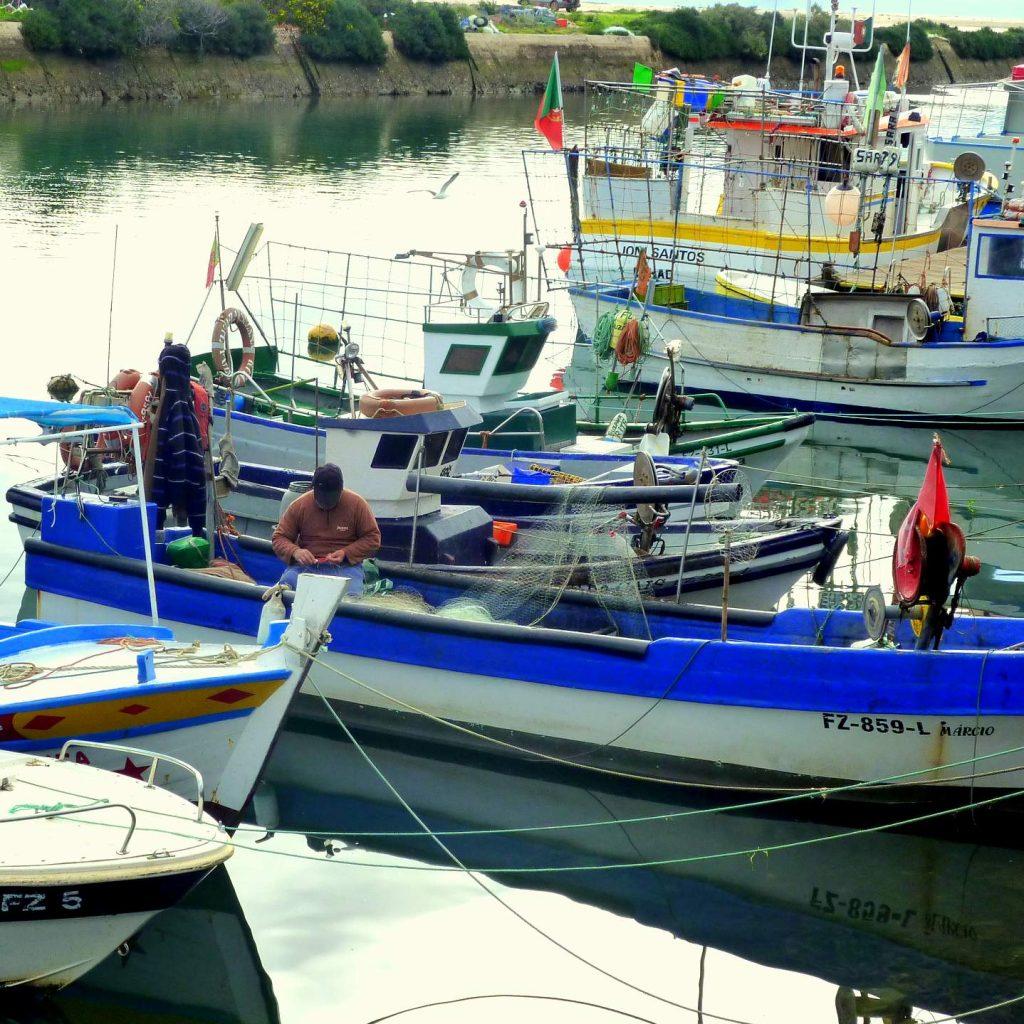 Fuseta Hafen