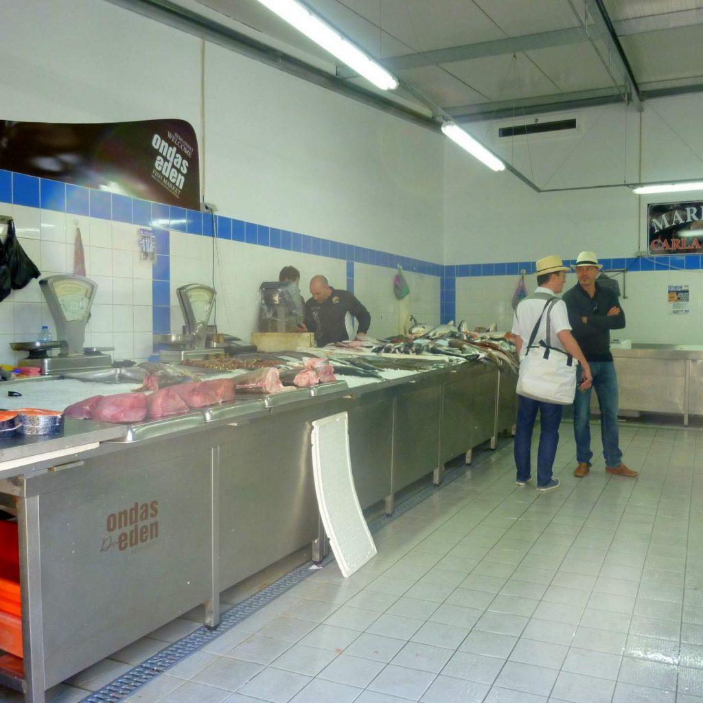 Quarteira Markthalle