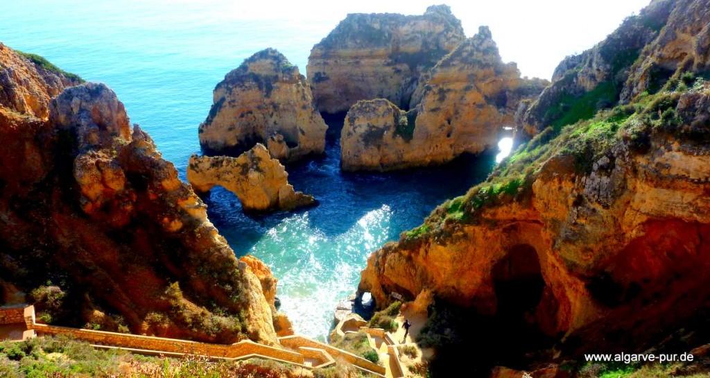 Reiserouten Algarve: Ponta Piedade