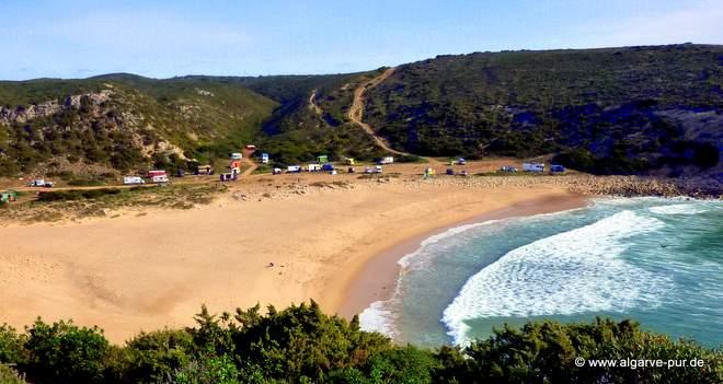 Praia Barranco, Algarve, Portugal