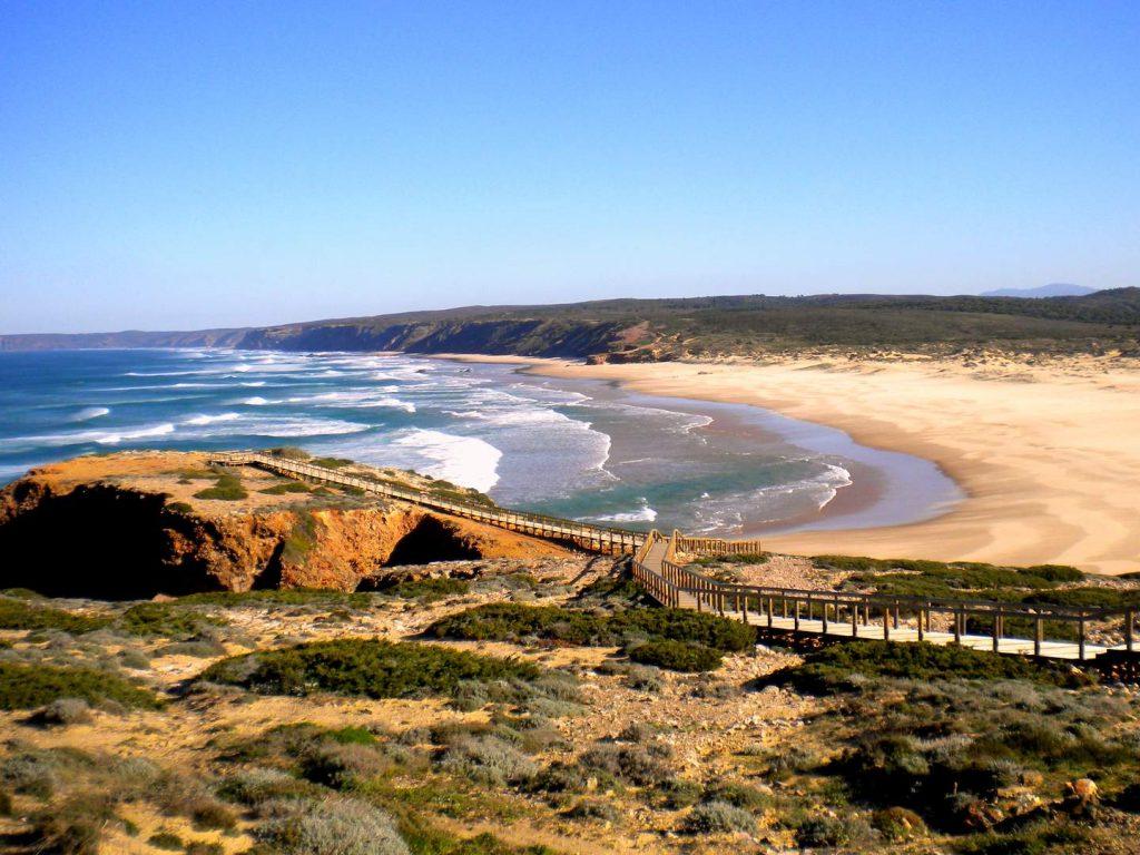 Algarve Strände: Praia da Bordeira