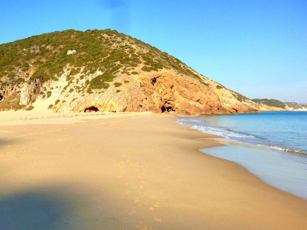 Algarve Strände: Praia das Furnas