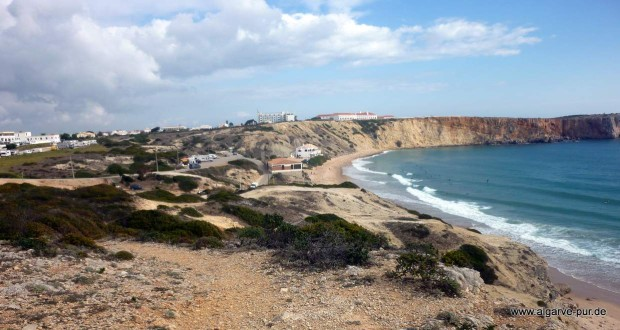Sagres Strände Praia Mareta