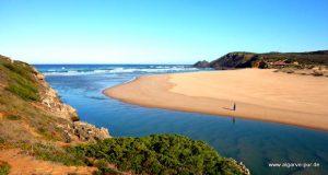 Praia da Amoreira, Aljezur, Algarve, Portugal