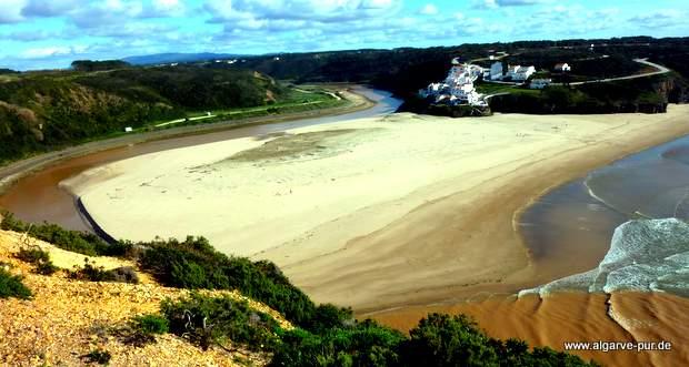 Praia de Seixe, Algarve, Portugal