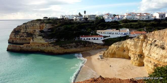 Strand bei Ferragudo, Algarve